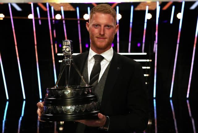 Ben Stokes was named BBC Sports Personality of the Year following a remarkable 2019 (Jane Barlow/PA)