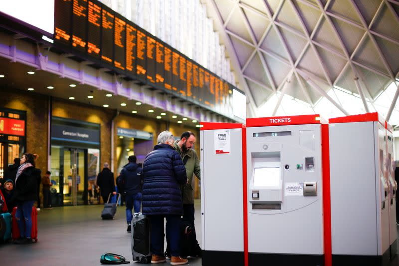 Labour to cut rail fares by a third