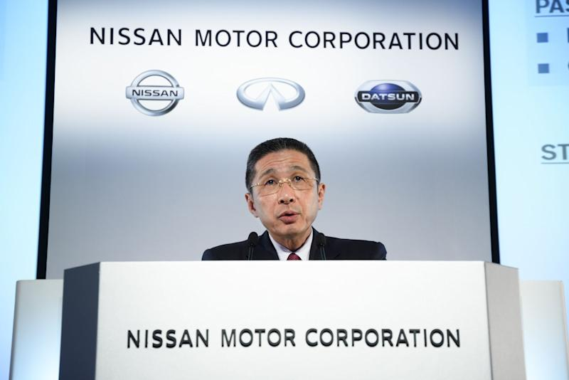 """(Bloomberg) -- Nissan Motor Co. confirmed reports of a 90% drop in quarterly operating profit and a broader restructuring before reporting results Thursday, underscoring the Japanese automaker's struggle to get back on stable footing.Operating profit for the fiscal first quarter will be several billion yen, the Nikkei newspaper reported a day earlier, indicating a figure well below analysts' average prediction for a 66% drop to 37 billion yen ($342 million) in the April-to-June period. In the first three months of the year, profit plummeted 98%. Nissan hasn't delivered such weak back-to-back earnings since the depths of the 2008-2009 financial crisis.Separately, Kyodo News earlier reported that Nissan is planning to cut at least 5,200 additional jobs globally to improve its performance, on top of a plan unveiled in May to shed 4,800 positions. In total, the reductions make up more than 7% of the workforce. Nissan board member Motoo Nagai, speaking to reporters on Wednesday, said any restructuring measures to be announced by the carmaker """"won't be simple.""""As part of the planned cost reduction measures, Nissan is considering production cuts in markets including Southeast Asia and Latin America, people familiar with the matter said. Nissan declined to comment.Nissan has been struggling to get back on stable ground following the arrest in November of Carlos Ghosn, the former chairman and architect of the global alliance between Nissan, Renault SA and Mitsubishi Motors Corp. Profit last year hit a decade low, and Nissan's shipments are slumping in the U.S., where years of sales incentives eroded margins and expanded volumes through fleet sales. With an out-of-sync product cycle and aging model lineup, Nissan unveiled a plan in May to roll out new models. Such revamps, however, take time.Nissan appeared to experience some trouble responding to the steady onslaught of media reports. Though the figures reported by the Nikkei were """"broadly accurate,"""" Nissan said in a stateme"""