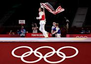"""<p>Biography: 18 years old</p> <p>Event: Women's 57kg (taekwondo)</p> <p>Quote: """"My 8-year-old self was running around the school yard saying I was going to be Olympic champion but she could never have imagined what this moment is like. It's unbelievable. It really hasn't sunk in yet.""""</p>"""