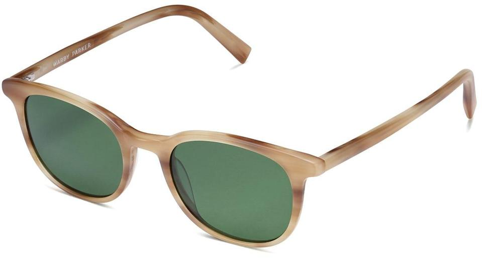 <p>We like the lighter frames of these <span>Warby Parker Durand Sunglasses</span> ($95), but the shape comes in a bunch of different colors.</p>