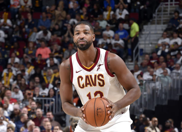 "<a class=""link rapid-noclick-resp"" href=""/nba/players/4884/"" data-ylk=""slk:Tristan Thompson"">Tristan Thompson</a> is in his seventh NBA season. (Getty Images)"