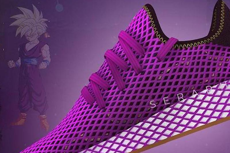 The First Adidas x Dragon Ball Z Sneaker Has Been Leaked
