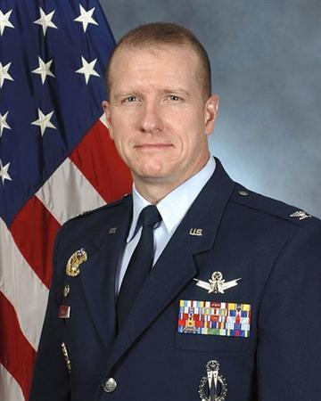 Colonel Robert W. Stanley II, Commander, 341st Missile Wing, Malmstrom Air Force Base, Montana is pictured in this undated handout photo courtesy of the U.S. Air Force. REUTERS/U.S. Air Force