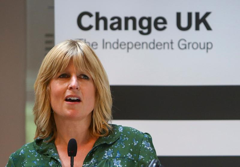 <strong>&nbsp;Change UK candidate Rachel Johnson&nbsp;</strong> (Photo: GEOFF CADDICK via Getty Images)