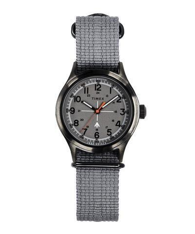 """<p><strong>Timex + Todd Snyder</strong></p><p>toddsnyder.com</p><p><strong>$103.00</strong></p><p><a href=""""https://go.redirectingat.com?id=74968X1596630&url=https%3A%2F%2Fwww.toddsnyder.com%2Fproducts%2Ftimex-military-watch-camo-strap-a04-grey&sref=https%3A%2F%2Fwww.esquire.com%2Fstyle%2Fmens-fashion%2Fg32643327%2Ftodd-snyder-memorial-day-sale%2F"""" rel=""""nofollow noopener"""" target=""""_blank"""" data-ylk=""""slk:Buy"""" class=""""link rapid-noclick-resp"""">Buy</a></p><p>Another simpatico team-up, another slapper of a product. </p>"""