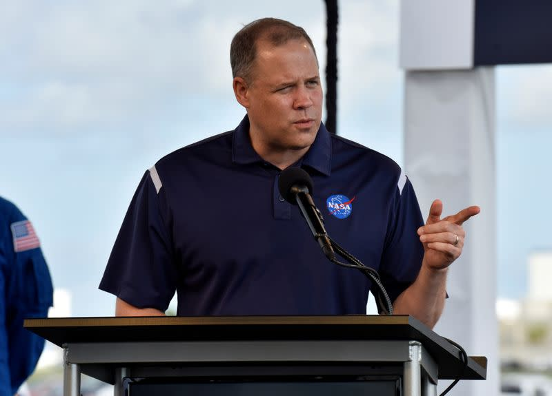 NASA chief says Russia ties 'solid' as Moscow's space chief rejects U.S.-led moon programme