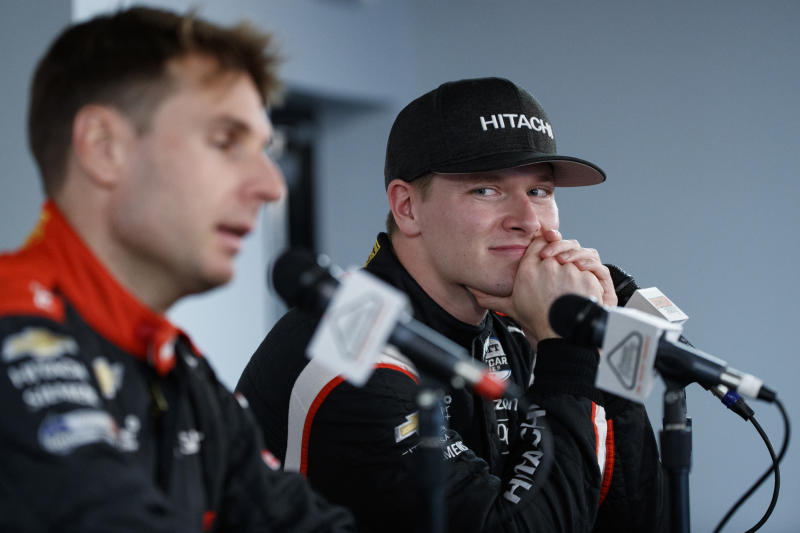 Newgarden gets Pocono pole after rain wipes out qualifying