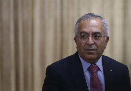 Former Palestinian Prime Minister Salam Fayyad attends an opening reception of CEAPAD in Tokyo