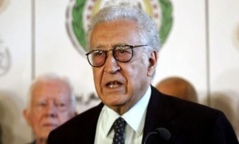 LakhdarBrahimi, international peace envoy for Syria, announces on Oct. 24 thatBashar al-Assad's regime agreed to a holiday ceasefire with the rebels it has been fighting for 19 months.