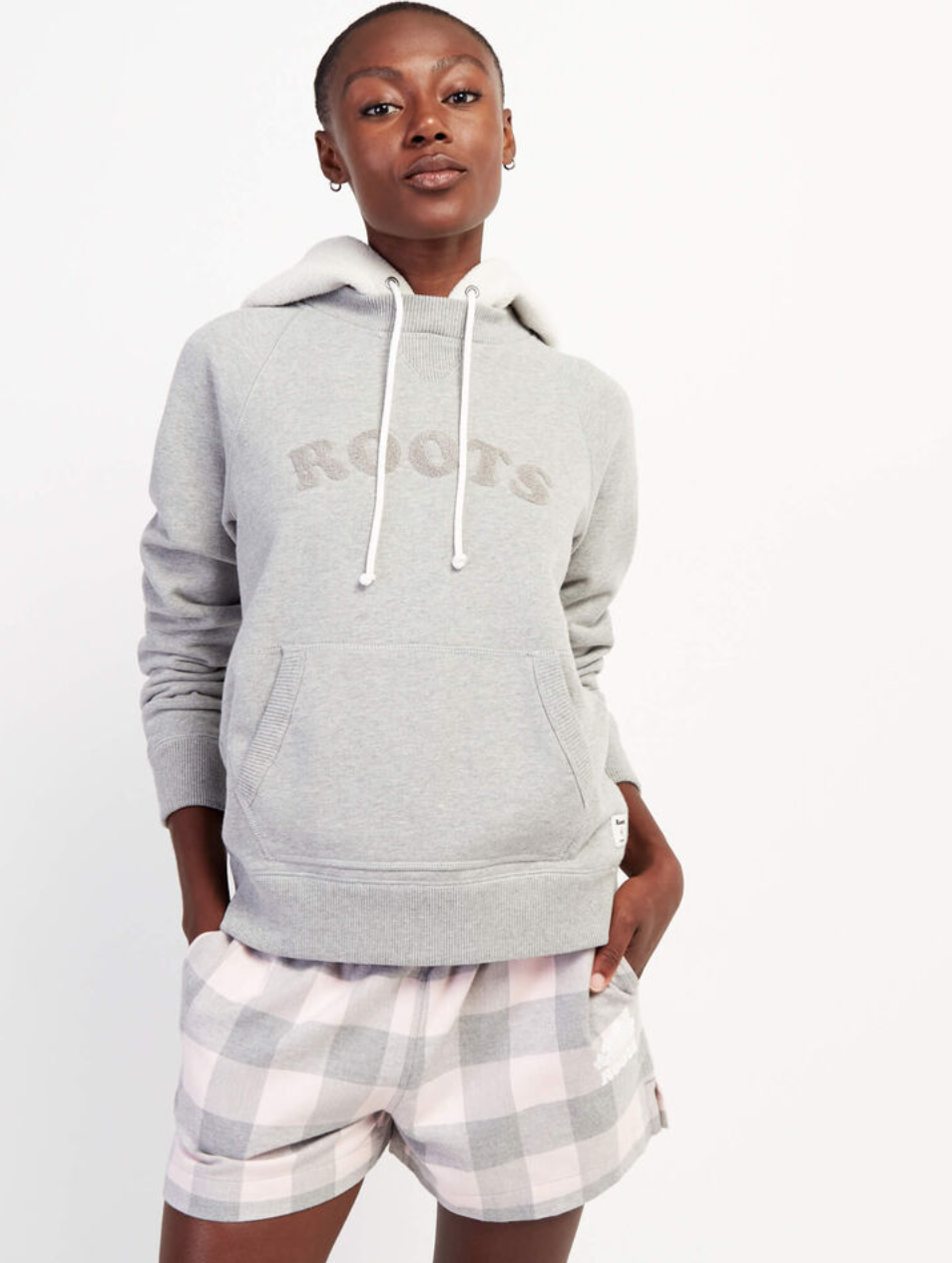 Ava Fleece Hoody. Image via Roots.
