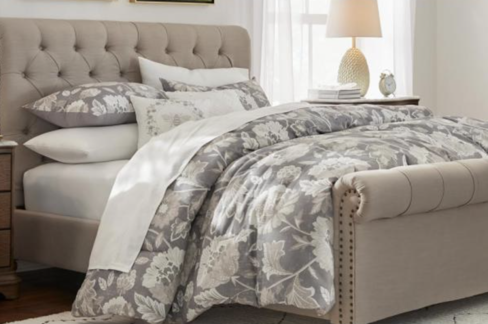 Save 40 percent on this customer favorite, which has all the pieces you need to dress up your bed. (Photo: The Home Depot)