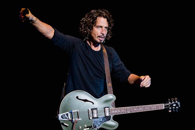 Chris Cornell of Soundgarden performs at Lollapalooza Brazil in São Paulo in 2014. (Photo by Buda Mendes/Getty Images)