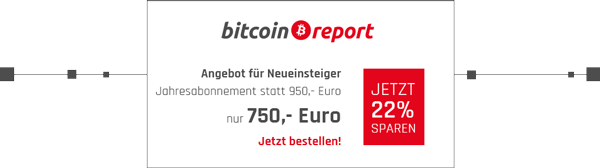 Sonderaktion bitcoin report