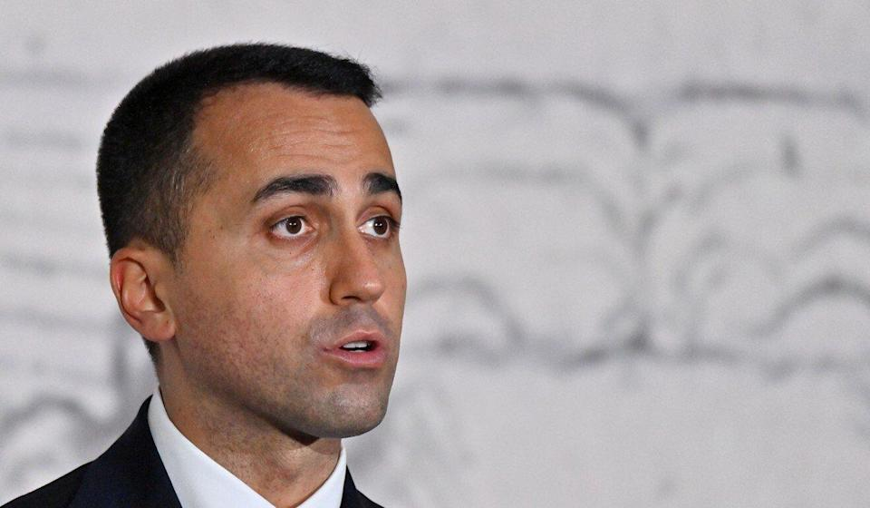 Italian Foreign Minister Luigi di Maio on Monday stressed that the US is a much more important ally for his country than China is. Photo: AFP