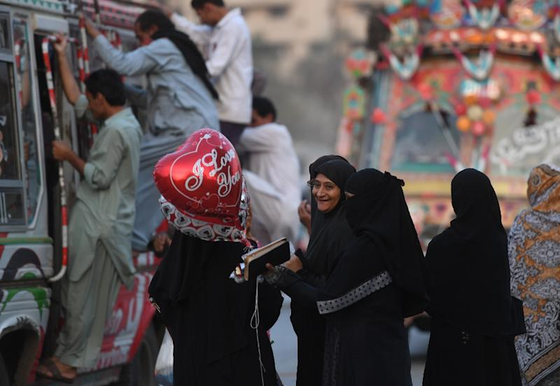 Valentine's Day is increasingly popular in Pakistan, although many disapprove of the holiday as a Western import