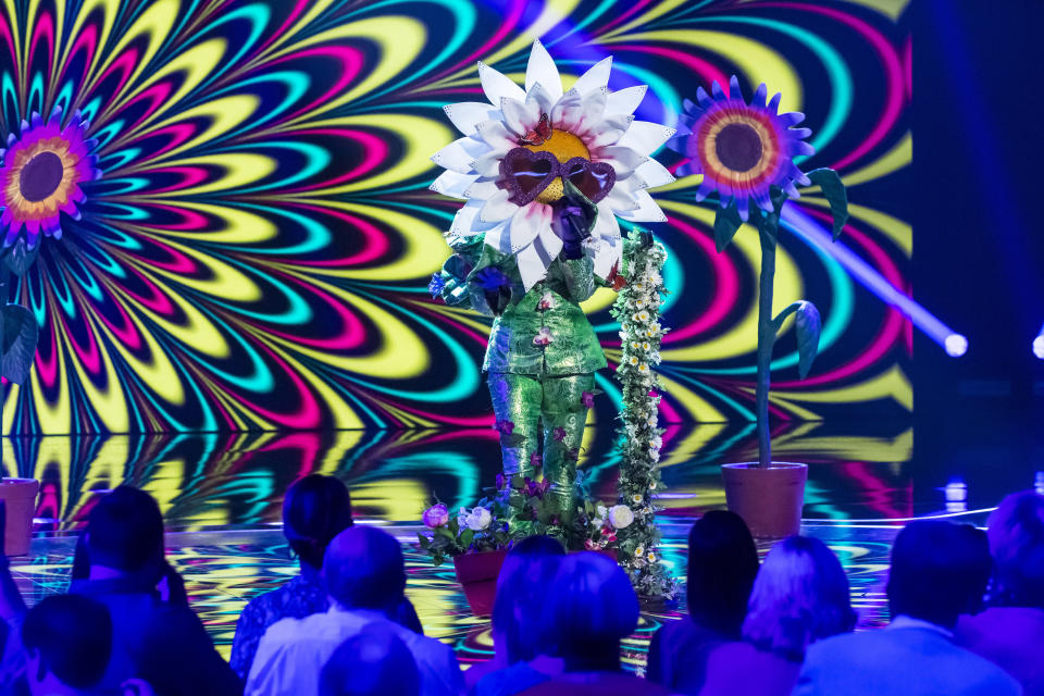 Is Ashley Roberts The Masked Singer known as Daisy? (Credit: ITV)