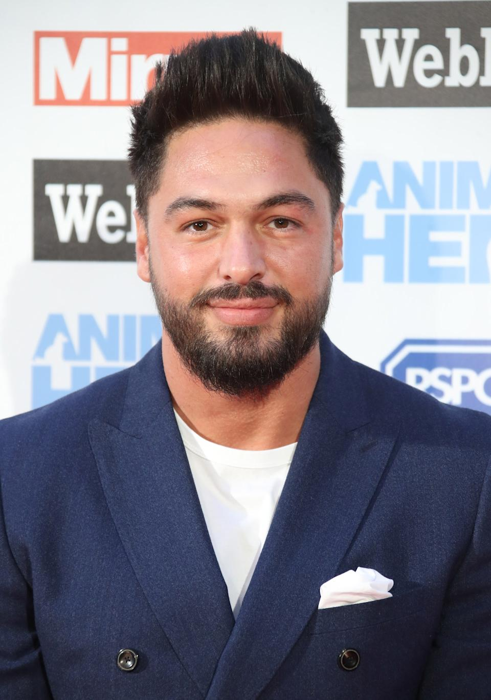 Mario Falcone attends the Daily Mirror & RSPCA Animal Hero awards at Grosvenor House on September 6, 2018 in London, England. (Photo by Mike Marsland/Mike Marsland/WireImage)