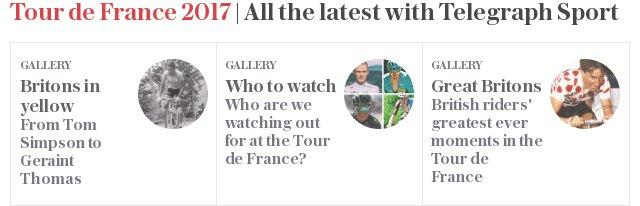All the latest Tour de France with Telegraph Sport