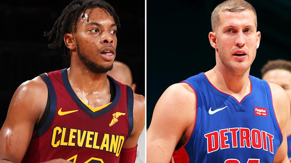 Darius Garland and Mason Plumlee stand as excellent additions from the waiver wire. Pictures: Getty Images