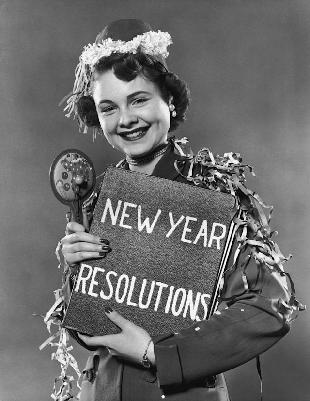 New Year resolution. (Getty Images)