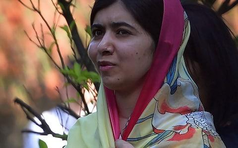 Malala Yousafzai is now a student at Oxford - Credit: AAMIR QURESHI/AFP/Getty Images