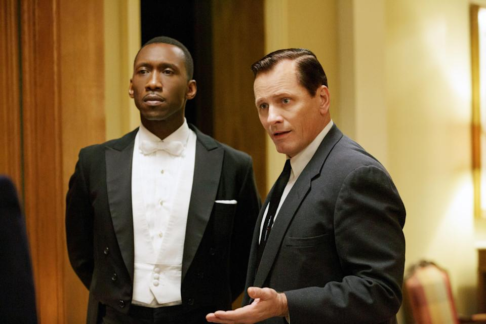 Mahershala Ali and Viggo Mortensen star in <em>Green Book</em>, which overcame some negative news stories to win multiple Oscar nominations. (Photo: Patti Perret/Universal/Courtesy Everett Collection)