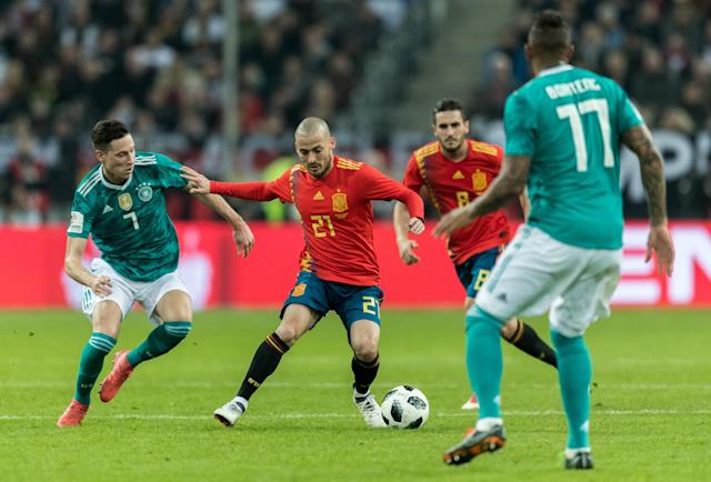 Germany and Spain both looked like 2018 World Cup contenders in a high-quality March friendly. (Getty)