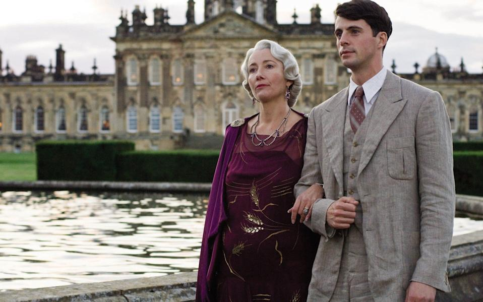 The sit may have functioned like the Flyte family home in Brideshead Revisited