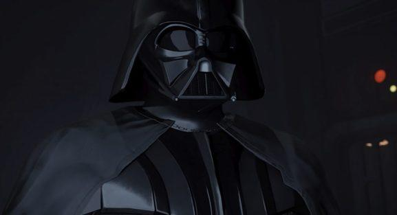 Darth Vader in VR: May the Force be in your face.