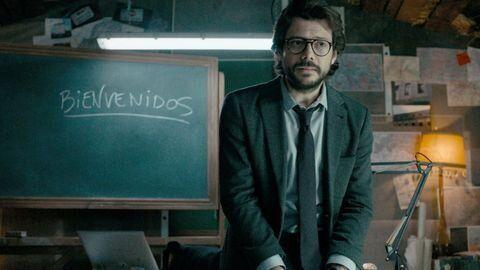 Álvaro Morte en 'La casa de papel'. (Photo: )