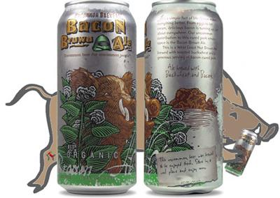 """<div class=""""caption-credit""""> Photo by: Courtesy of Craft Cans</div><div class=""""caption-title""""></div><b>Uncommon Brewers: Bacon Brown Ale</b> <br> As cured pork continues its greasy march to artery-clogging world domination, a bacon-based beer was but an inevitability. This brown ale from California's fittingly named Uncommon Brewers is made with toasted buckwheat and plenty of bacon, resulting in a smoky, salty curiosity that'd be great for brunch."""