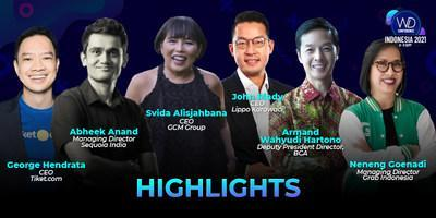 Featured speakers during Wild Digital Indonesia 2021 Conference.