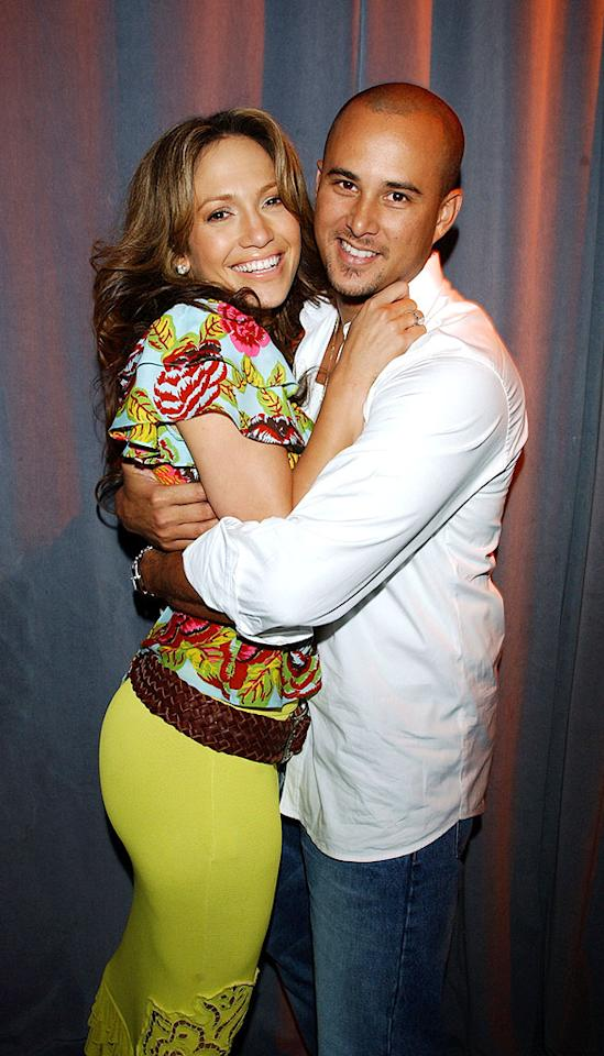 """Actor/choreographer Cris Judd found love on the set of Jennifer Lopez's video for """"Love Don't Cost a Thing,"""" and the pair made it official in a September 2001 ceremony. Less than a year later, in June 2002, Judd lost his dance partner to divorce because ... Kevin Mazur/<a href=""""http://www.wireimage.com"""" target=""""new"""">WireImage.com</a> - November 2, 2001"""