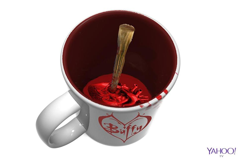 <p>Please tell us you can use the stake in this other Surreal Entertainment mug to stir. It also arrives in May. Price: $12.00 (Credit: Surreal Entertainment) </p>