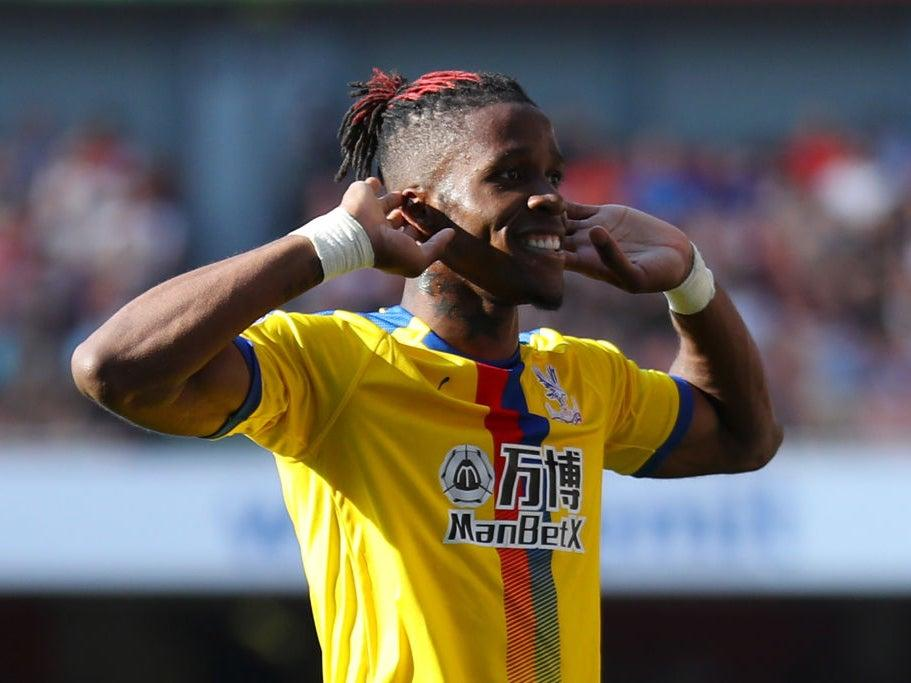 Wilfried Zaha has led a generation of cage footballers in south LondonGetty