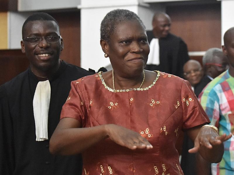 The International Criminal Court in The Hague had wanted to prosecute Simone Gbagbo for crimes against humanity, issuing a warrant for her arrest but Ivorian authorities refused to hand her over (AFP Photo/Issouf Sanogo)