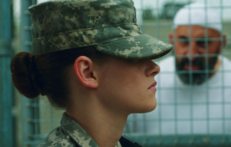 "This photo provided by the Sundance Institute shows Kristen Stewart in a scene from the film, ""Camp X-Ray."" The movies that populate independent film festivals continue to elicit lead actors hoping to foster career shifts. Robert Redford's Sundance, kicking off it's 30th year on Thursday, Jan. 16, 2014, in Park City, Utah, continues to attract the crux of the film business. As actors Stewart and Joseph Gordon-Levitt have learned, the indie fest is the ideal place to cast a new net. (AP Photo/Sundance Institute, Beth Dubber, File)"