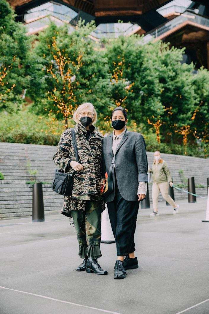 Easy Suiting Was King at Frieze New York
