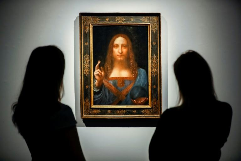 "In November, Leonardo da Vinci's ""Salvator Mundi"" was sold to a Saudi prince for a record $450 million during an auction at Christie's in London"