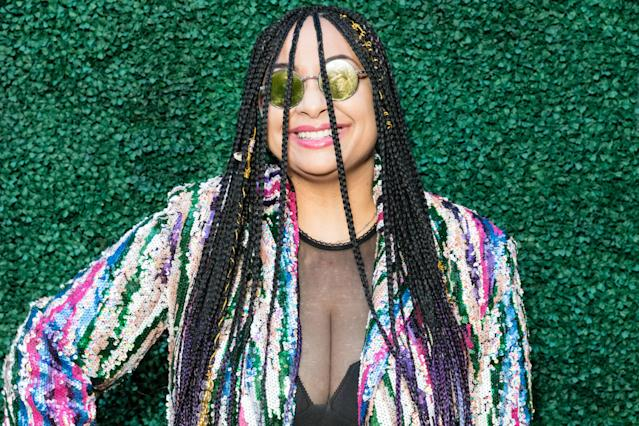 Raven-Symone attends Byron Allen's 4th Annual Oscar Gala to Benefit Children's Hospital Los Angeles in 2020 (Greg Doherty/Getty Images for Entertainment Studios)