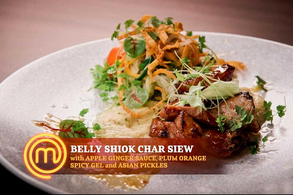 Michelle's Belly Shiok Char Siew (PHOTO: Screengrab from MeWatch)