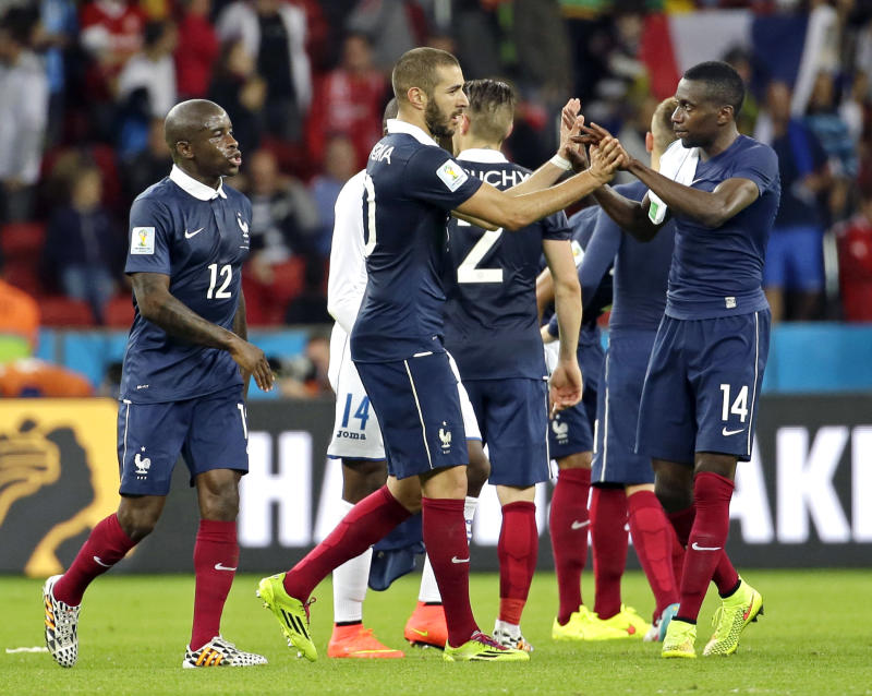 Benzema credits Deschamps for ending his bad spell