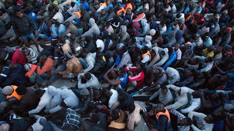 Italy wants to stop the flow of mainly African migrants crossing the sea from Libya.