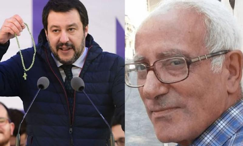 Salvini contro don Michele