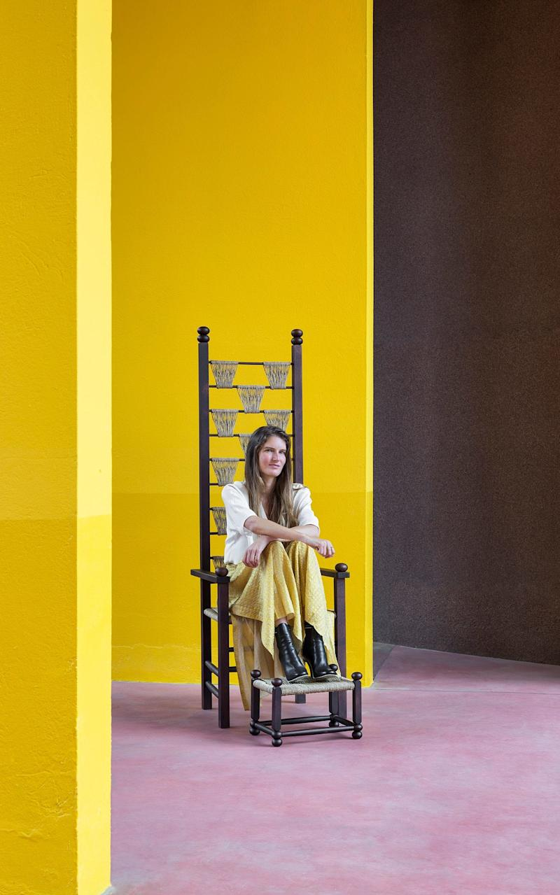 Chiara Andreatti, who created Fendi's Design Miami 2017 installation  - Francesca Ferrari