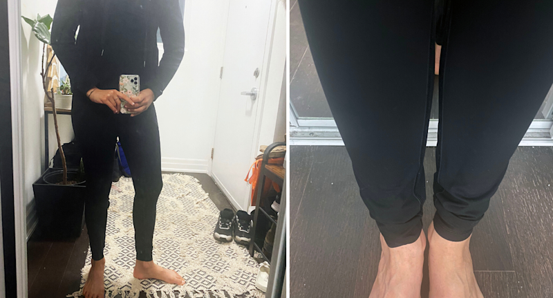 Everlane Perform Legging in Black.