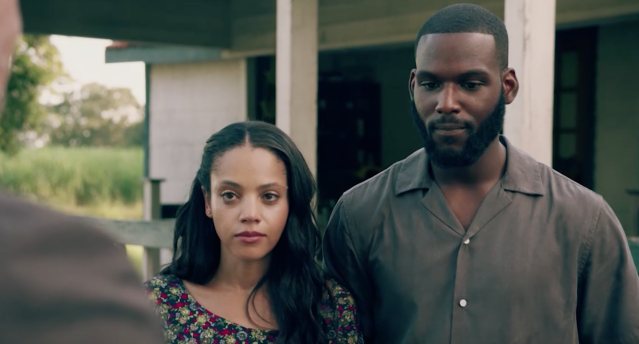 Bianca Lawson as Darla and Kofi Siriboe as Ralph Angel in 'Queen Sugar' (Photo: OWN)