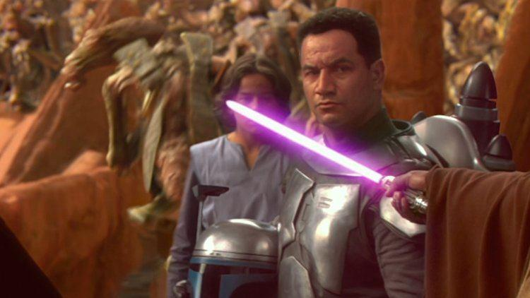 Morrison as Jango Fett in Attack of the Clones (Credit: Fox/Lucasfilm)