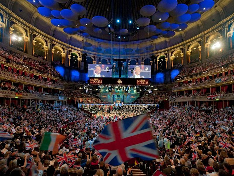 'Rule, Britannia!' will be sung at the Last Night of the Proms in 2021: EPA
